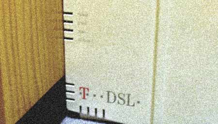 T-DSL Modem kaputt