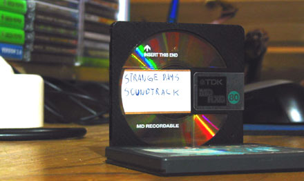 Strange Days Soundtrack MiniDisc
