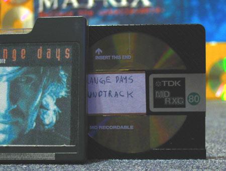 Strange Days Soundtrack MiniDisc
