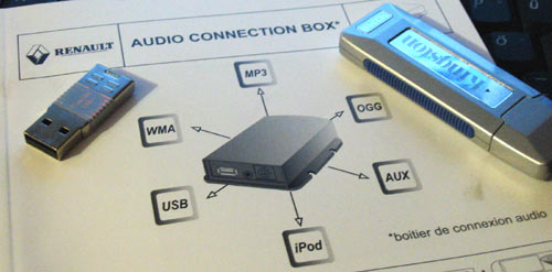 Renault Clio Audio Connection Box