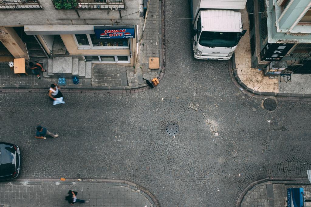 Die Straßen von Istanbul