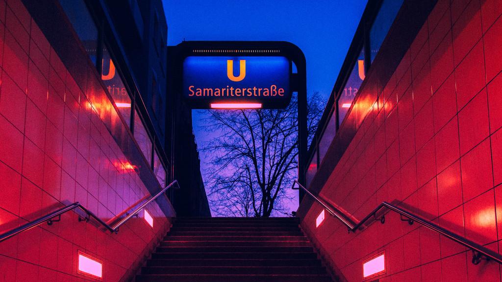 Ubahn Station Samariter Straße